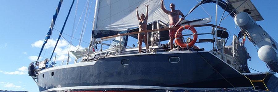 Disfruta y diviertete navegando en el Sirocodiez, un gran velero