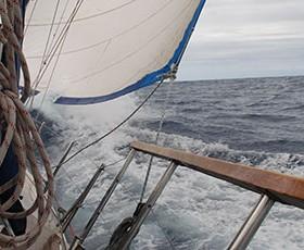Viaje del Atlántico de Canarias a Sta. Lucia