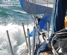 Temporal en el Estrecho de Gibraltar