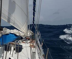 Navegación al limite con Temporal Duro
