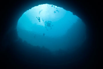 blue hole agujeros azules bahamas velero sirocodiez 360 4 Los fascinantes Agujeros Azules de las Bahamas, Blue Holes