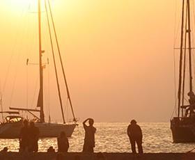 Navegando de Lanzarote a Tenerife velero Sirocodiez.