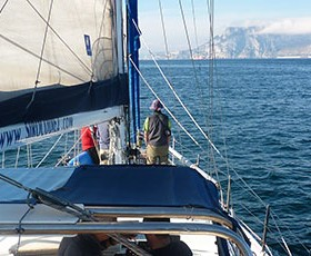 Travesia Caribe de Valencia a Gibraltar.