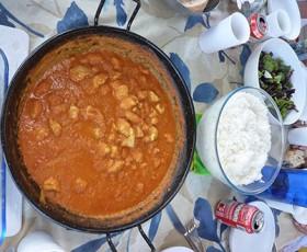 Receta marinera de Pollo al Curry