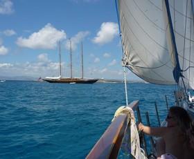"""El """"Creole"""", esplendor y drama de uno de los velero más hermosos del mundo"""