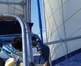 Navegando en las Islas Virgenes