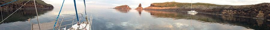 Viaje en velero a las Islas Columbretes en fin de semana