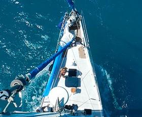 Medio año navegando en velero