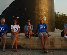 25 aniversario tripulacion navegando Ibiza
