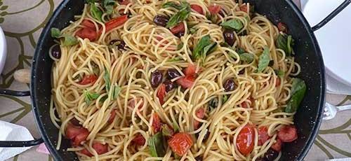 Receta marinera de Espaguetis a la Putanesca