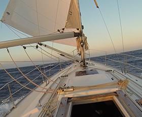 Travesía en velero de Portugal a Santa Pola