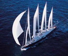 La historia del que fue el mayor yate de vela del mundo, el Phocea