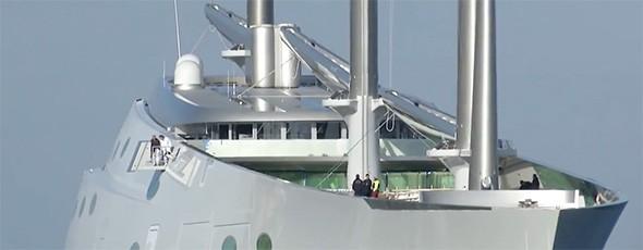 El velero más grande del mundo ya navega